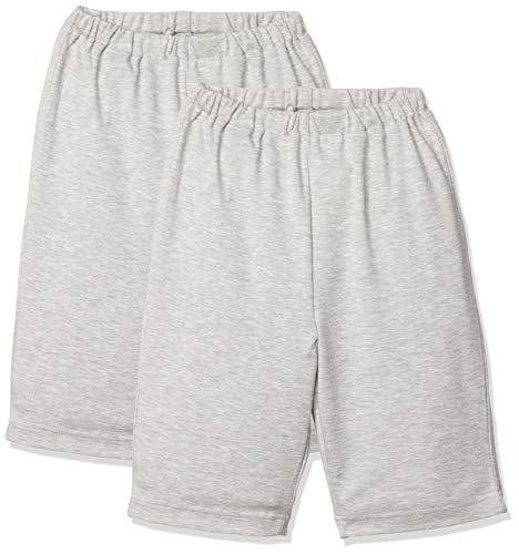 [セシール] パジャマ ハーフパンツ 同色2枚組 ウエストゴム ボーイズ NC-842 グレー 120