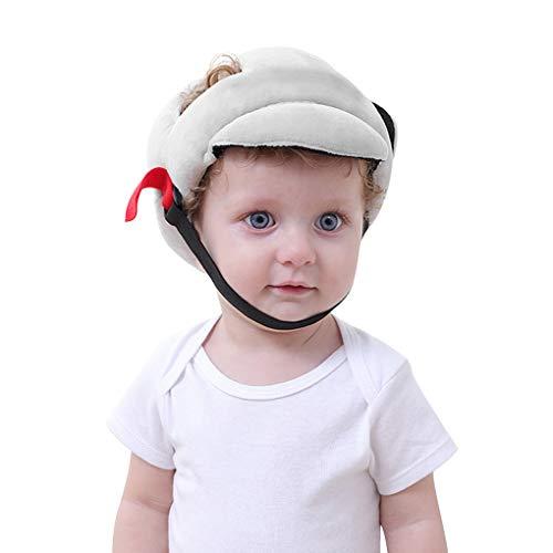 Baby Schutzhelm, 360° Anti-Kollision Kopfschutzkappe Kopfschutz-Kissen mit Verstellbaren Riemen Atmungsaktiv Babyhelm Sicherheits Schutz Mütze für Säugling Kleinkind Kinder Laufen Lernen