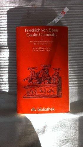 Cautio Criminalis (4971 167).