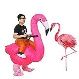 JASHKE Aufblasbare Flamingo