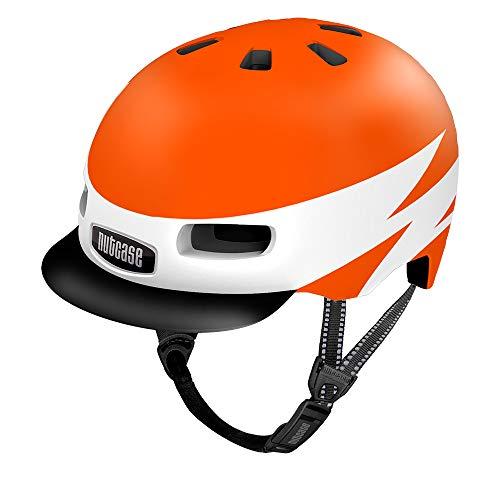 Nutcase Little Nutty-Lightnin' Unisex-Helm, Mehrfarbig, XS