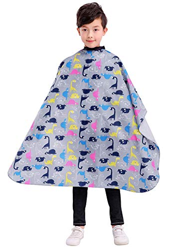 Kids Haircut Barber Cape Cover for Hair Cutting, Styling and Shampoo