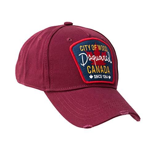 DSQUARED2 D2 - Gorra de béisbol original de la ciudad de madera...