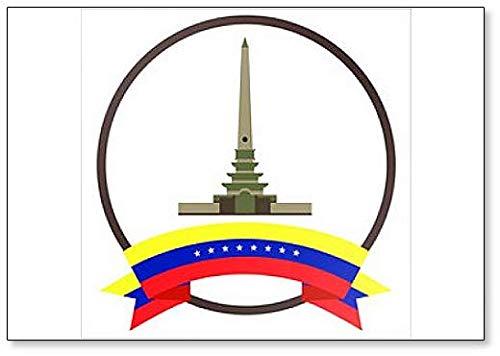 Kühlschrankmagnet Altamira's Obelisk City Illustration