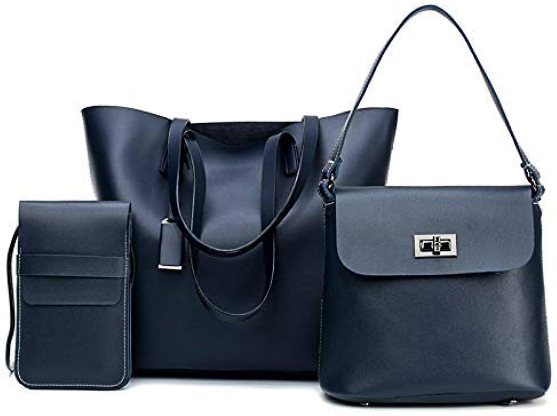 OVVO Frauen Handtasche Schultertasche Handtasche Simple Fashion Handtasche Schultertasche Schultertasche Schultertasche Slanting Bag Umhängetasche für Outdoor Travle (Farbe   Blau) B07PRQJV19  Neu 24e167