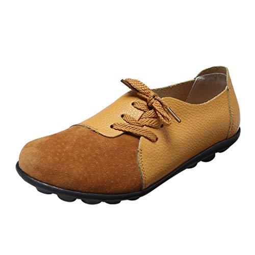 Zapatos de Vestir Mujer Verano Planos PAOLIAN Calzado de Trabajo Comodos Zapatos...