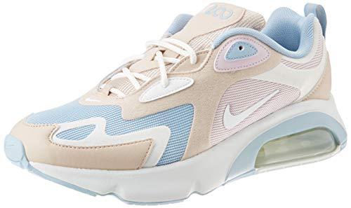 Nike Damen Laufschuhe AIR MAX 200 Beige 39 EU