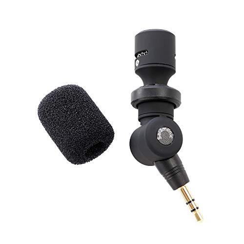Saramonic SR-XM1 3,5 mm TRS micrófono omnidireccional Plug and Play Mic Compatible con cámaras DSLR videocámaras CaMixer SmartMixer LavMic SmartRig+ y UWMIC9/10/15 Sistemas de micrófono inalámbrico