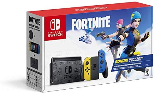 Nintendo Switch Fortnite Wildcat Bundle product image