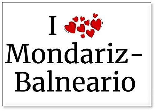- Amo Mondariz-Balneario, Imán para Nevera (diseño 1)