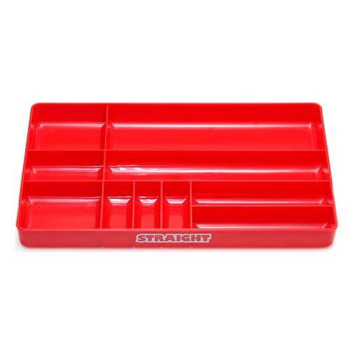(STRAIGHT/ストレート) プラスチックトレー レッド 19-463
