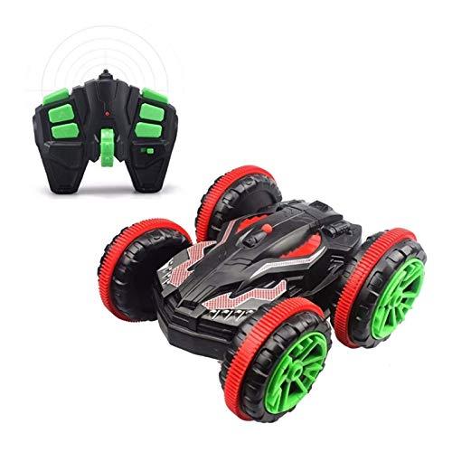 WGFGXQ Camión Anfibio controlado por Radio, Juguetes eléctricos para Coches de Acrobacias, 360 & deg;Cool Spinning Stunt Car, 2.4Ghz Anti-Interferencia para niños