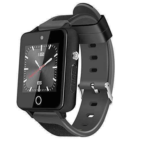 MHCYJK 3G Smart Watch Orologio WiFi GPS Smartwatch 2.0MP Fotocamera da 1,5 Pollici da Polso da Uomo,Gray