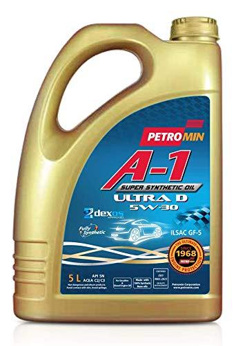 PETROMIN A-1 SUPER SYNTHETIC OIL - ULTRA D - DIESEL - SAE 5W30 LONGLIFE - C2/C3 - HUILE MOTEUR 5L