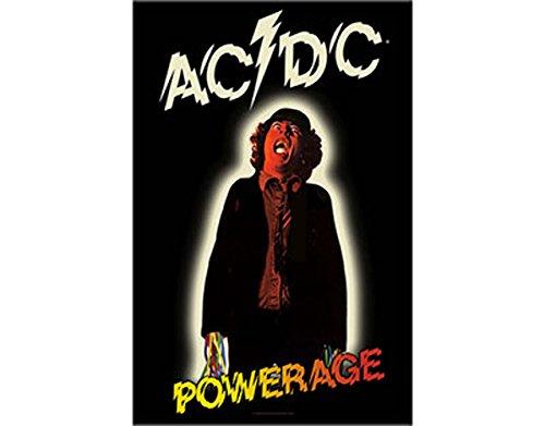 AC/DC Powerage Flagge / Fahne / Posterflagge