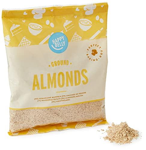 Marca Amazon - Happy Belly Almendras molidas 200gr x 5