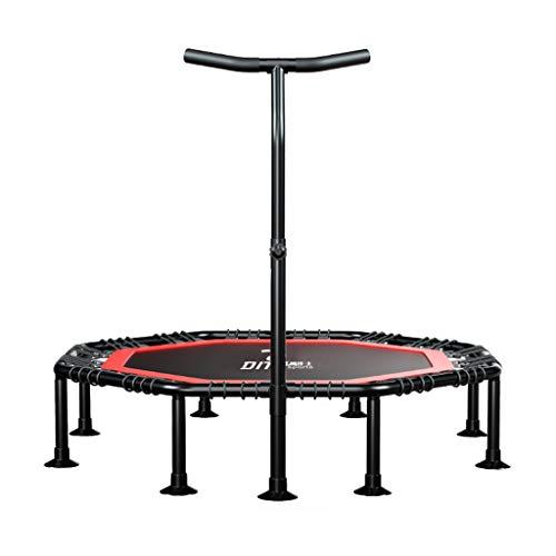 Opvouwbare Fitness Springen Trampoline voor Indoor Outdoor | Kids Rebounder Volwassen Bungee Beginners met Handvat | Elastische Touw Lente Suspensie | Aerobic Bouncer Cardio Workouts