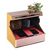 CL- Schuhputzer automatische Induktion volle Schuhputzmaschine Haushalt elektrische Schuhputzmaschine, geeignet für öffentliche Plätze 510X290X440mm Schuhputzer (Farbe : A)