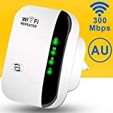 WiFi Range Extender,300Mbps Wireless Repeater 2.4G Internet WiFi Signal Booster Amplifier Supports Repeater/AP