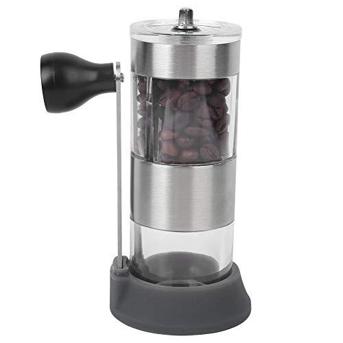 Molinillo de café manual, accesorios de café multifunción de tamaño pequeño, versatilidad, fácil de limpiar, portátil para cereales, nueces, granos