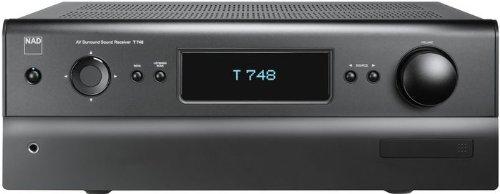 NAD T 748+ High End 7-Kanal-A/V-Receiver HDMI mit 3D-Unterstützung und ARC |Graphite