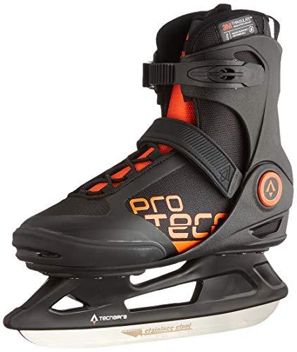 Tecnopro Herren Phoenix M 2.0 Feldhockeyschuhe, Schwarz (Black/Orange 900), 42 EU