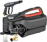 MARHD Lavadora Eléctrica A Presión, Autocebante De Doble Propósito, Protección Múltiple, 3 Segundos De Salida De Agua, Adecuada para Lavar Autos, Vidrios, Patios (Size : Long Pole+Foam Pot)