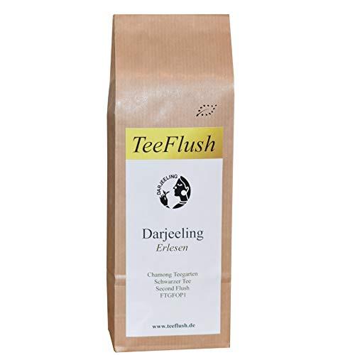 Darjeeling Second Flush FTGFOP1, 2019, Schwarztee, Bio, lose, 250g, Chamong Gruppe-Pussimbing Teegarten, Geschmack: blumig, etwas kräftig mit Muskatellerton