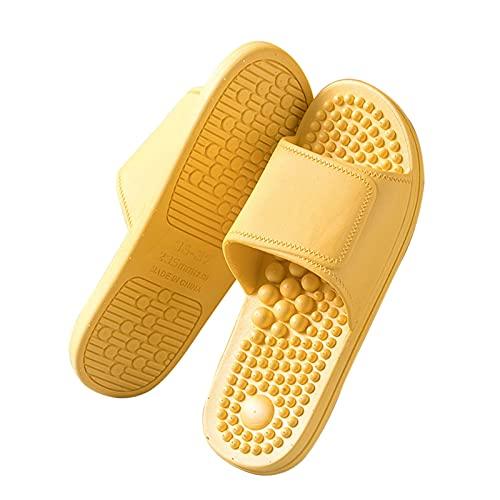 OFFA Pantuflas Pantuflas Sandalias Zapatos para Mujer Zapatillas De Masaje Reflexología del Pie Y Acupresión Massagers Sandalia Ducha Slippers para El Dedo del Pie Abierto De Las Mujeres Slippers