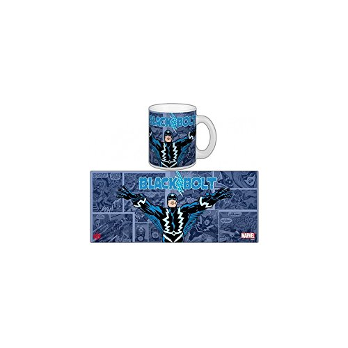 Marvel Semic Distribution - Smug086 - Ameublement Et Décoration - Mug Retro - Série 2 - Black Bolt