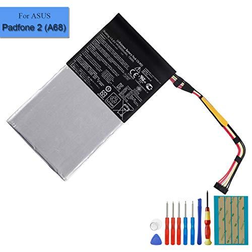 Batteria di ricambio C11-P03 compatibile con Asus Padfone 2 Tablet 5100mah + strumenti