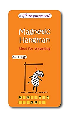 Magnetic Travel Game of Hangman -Car Games , Airplane Games and Quiet Games