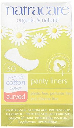 Natracare Panty Liners Curvados 30 unidades (Paquete de 2)