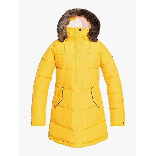 41ClGT6HHlL. SS500  - Roxy Women's Ellie - Waterproof Longline Puffer Jacket for Women Waterproof Longline Puffer Jacket