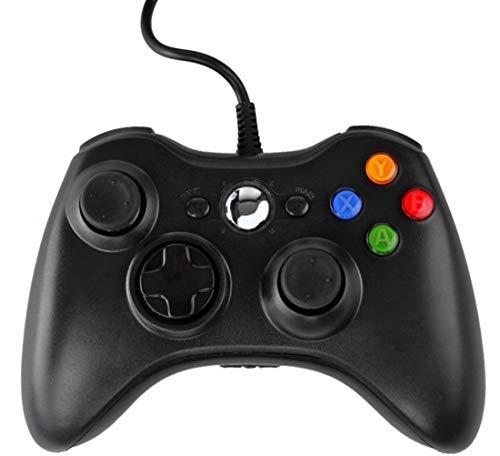 Xbox 360 Game Controller, USB Wired Gamepad mit Kabel für Xbox 360, Xbox 360 Slim, Windows PC