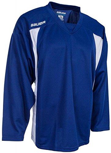 Bauer Trainingstrikot 600 Premium Senior, Größe:XXL, Farbe:blau/Weiss