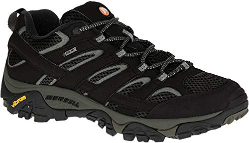 Merrell Moab 2 GTX, Zapatillas de Senderismo para Hombre, Negro (Black), 45 EU