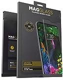 Magglass LG G8 ThinQ Displayschutz aus gehärtetem Glas (kratzfest) Ultra Clear Displayschutzfolie (hüllenfreundlich)