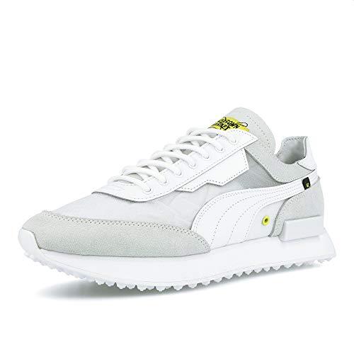 PUMA Herren Cream Sneaker Weiß, 37