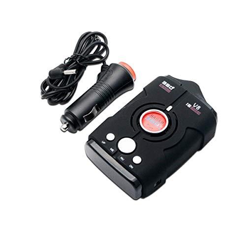 MASO Détecteur de radars GPS / radar / laser 360 degrés 16 bandes V8 police Safe Alerte vocale Laser US