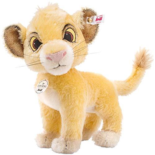 Steiff 355363 Löwe Simba stehend goldblond 24 cm limitiert Der König der Löwen