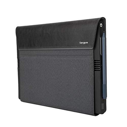 Targus THZ681GL Signature Folio Wrap Case - Microsoft Surface Pro 6, Pro 2017 und Surface Pro 4 - Grau