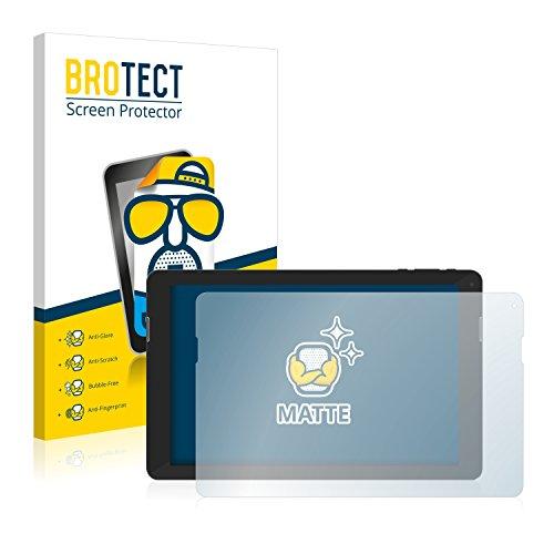 BROTECT 2X Entspiegelungs-Schutzfolie kompatibel mit TrekStor SurfTab xintron i 10.1 Fan Edition Bildschirmschutz-Folie Matt, Anti-Fingerprint