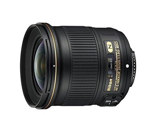 Lente Nikon Nikkor AF-S 24 mm f / 1.8G ED, Negro [Nikon Tarjeta: 4 años de garantía]