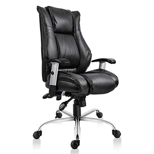 Smugdesk Executive Office Chair Ergonomic Heavy Duty Chair Adjustable Swivel Comfortable Rolling Chair