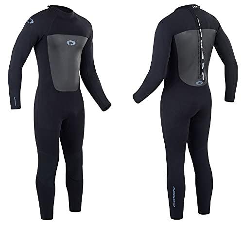 Osprey Men's Full Length 3 mm Summer Wetsuit, Adult Neoprene Surfing Diving Wetsuit, Origin, Multiple Colours, L