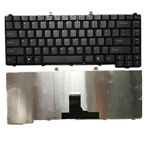 fqparts Teclado portátil para Acer para Extensa 2600 Negro Versión Estadounidense US