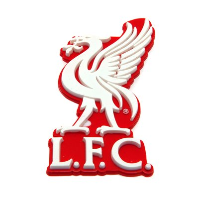Liverpool FC Official Product Rubber Chunky 3-D Koelkast Magneet CLUB CREST