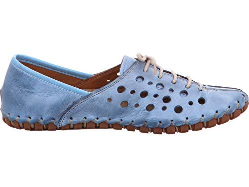 Gemini Damen Schnuerschuhe 031210-02 800 blau 384603