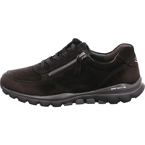Gabor Shoes Damen Sport-Halbschuh Sneaker, Schwarz (Blurossoschw) 47), 39 EU